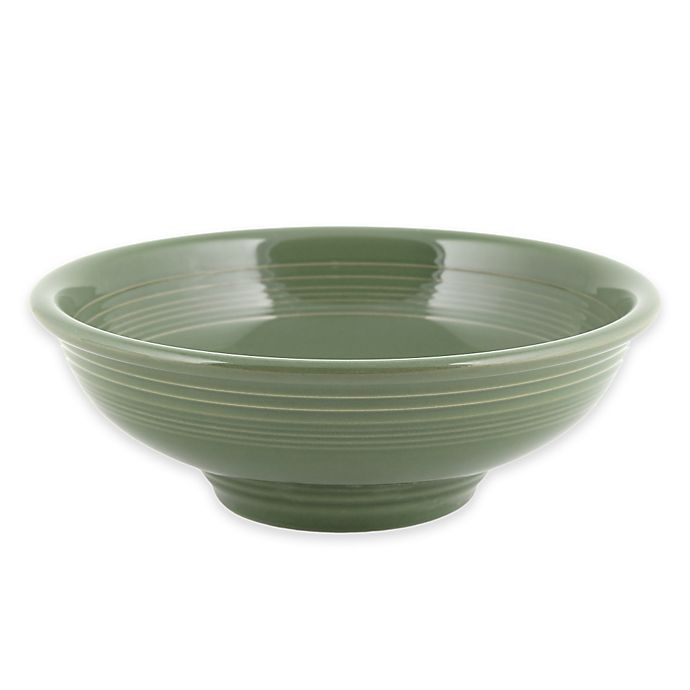 Alternate image 1 for Fiesta® Pedestal Bowl in Sage