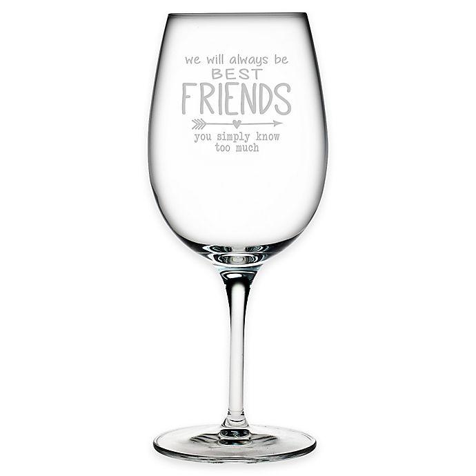 Susquehanna Gl Etched Best Friends