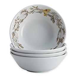 BonJour® Fruitful Nectar Fruit Bowls in Turquoise (Set of 4)