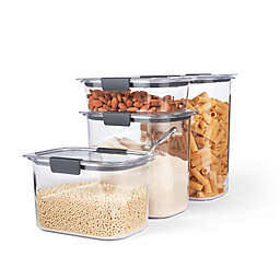 Rubbermaid 4-Piece Brilliance Dry Storage Set