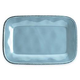 Rachael Ray™  Cucina Stoneware Rectangular Platter in Blue