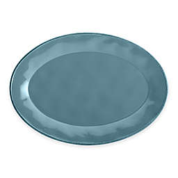 Rachael Ray™ Cucina Stoneware Oval Platter in Blue