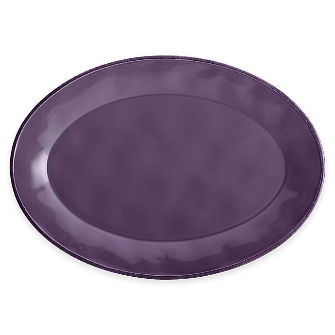 Alternate image 1 for Rachael Ray™ Cucina 14-Inch Oval Platter in Lavender