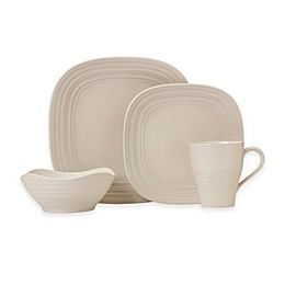 Mikasa® Swirl Square Dinnerware Collection in Cream