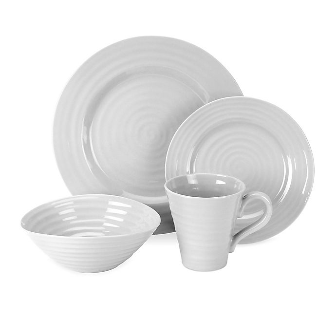 Alternate image 1 for Sophie Conran for Portmeirion® Dinnerware Collection in Grey