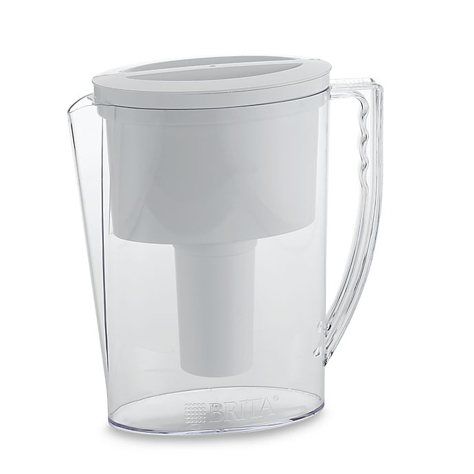 Alternate image 1 for Brita® Water Filtration Slim Pitcher