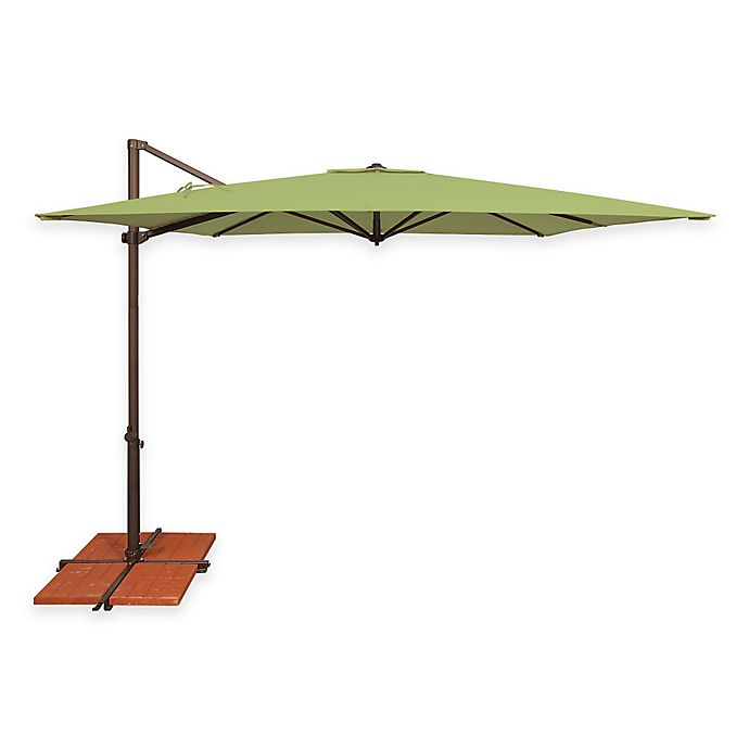 Simplyshade Skye 8 Foot 7 Inch Square Cantilever Umbrella In