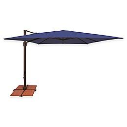 SimplyShade® Bali 10-Foot Square Cantilever Aluminum Solefin Umbrella