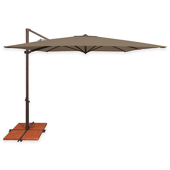 Simplyshade Skye 8 Foot 6 Inch Square Cantilever Aluminum Umbrella