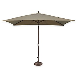 SimplyShade Catalina 6.5-Foot x 10-Foot Tilt Rectangle Solefin® Umbrella