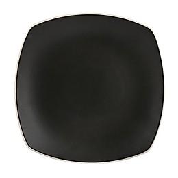 Artisanal Kitchen Supply® Edge Square Dinner Plate in Graphite