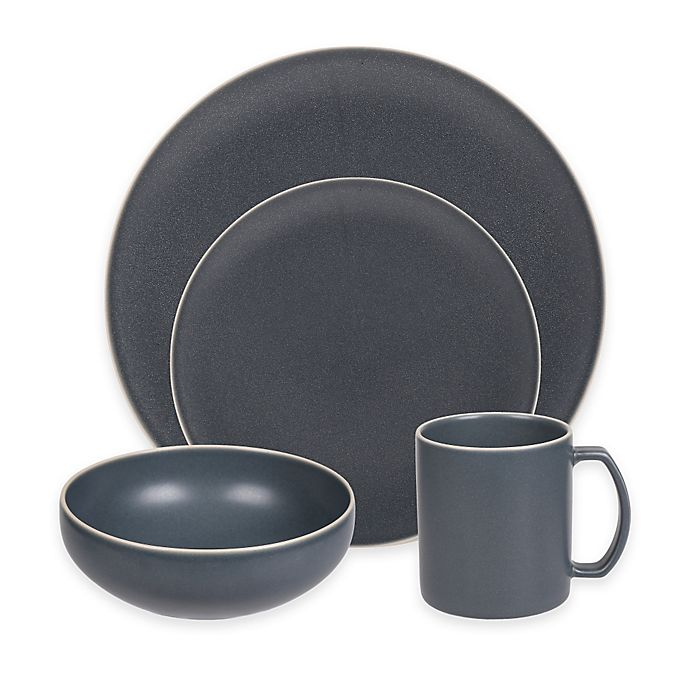 Alternate image 1 for Artisanal Kitchen Supply® Edge Dinnerware Collection in Grey