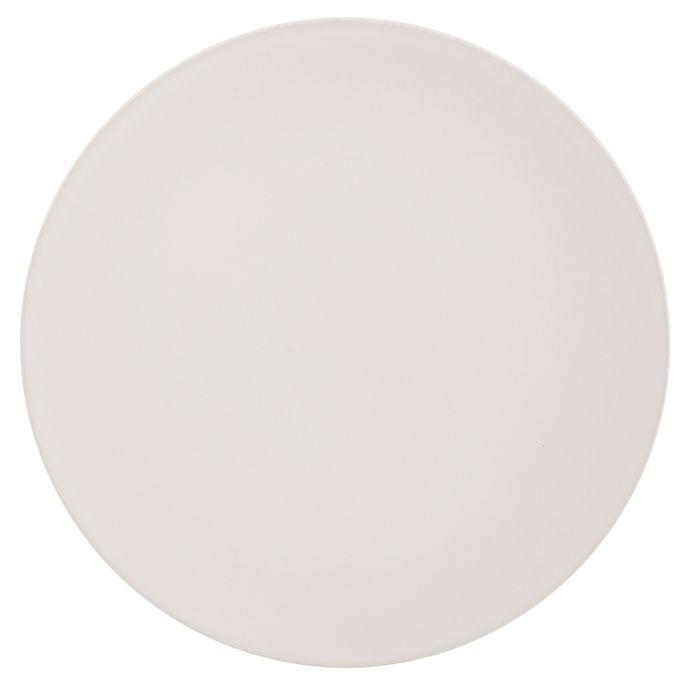 Alternate image 1 for Artisanal Kitchen Supply® Edge Round Dinner Plate in Linen