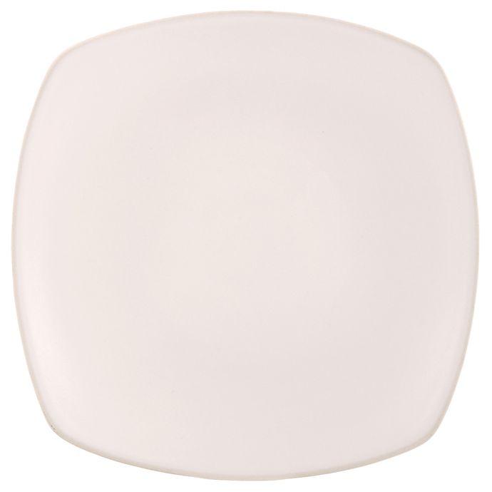 Alternate image 1 for Artisanal Kitchen Supply® Edge Square Dinner Plate in Linen