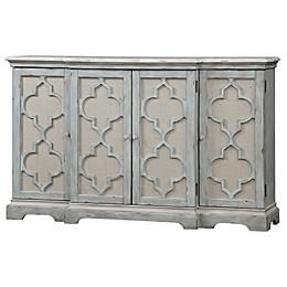 Uttermost Sophie 4-Door Cabinet in Grey