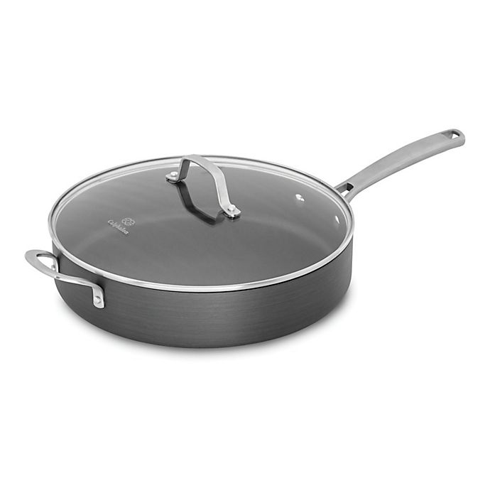 Alternate image 1 for Calphalon® Classic™ Nonstick 5 qt. Covered Sauté Pan