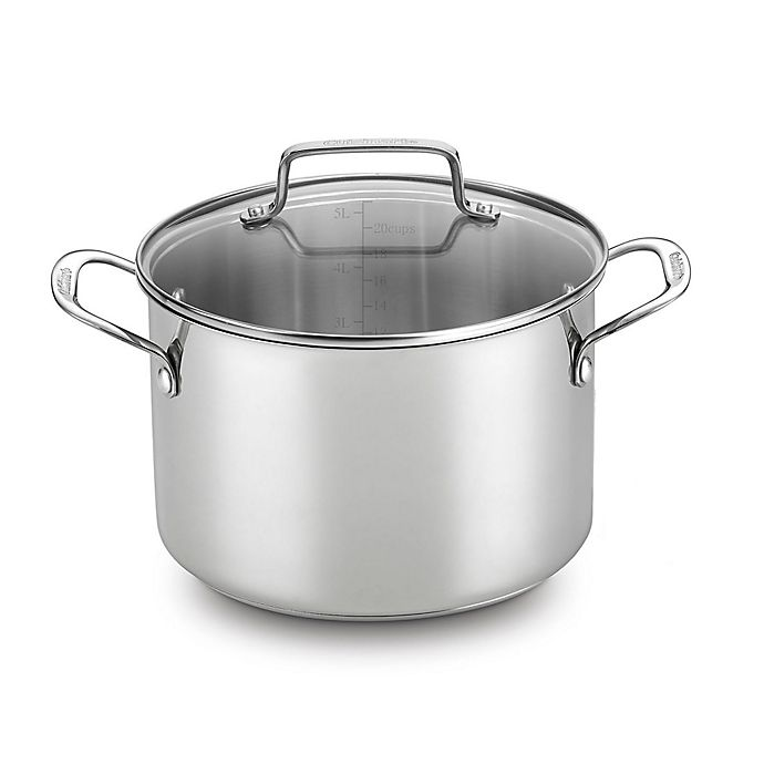 Alternate image 1 for Cuisinart® Chef's Classic 5.75 qt. Covered Soup Pot