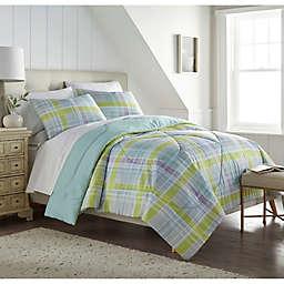 Seersucker Plaid 3-Piece Comforter Set