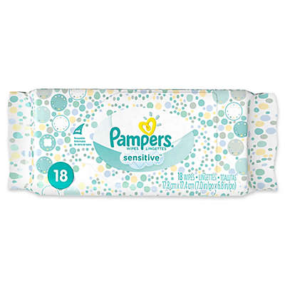 Pampers® 18-Count Sensitive Wipes Convenience Pack