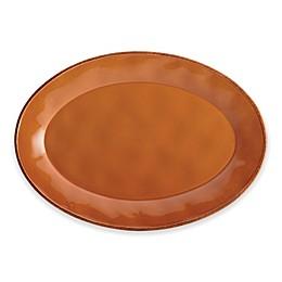 Rachael Ray™ Cucina Stoneware Oval Platter in Orange
