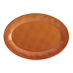 Rachael Ray™ Cucina Stoneware Oval Platter in Orange