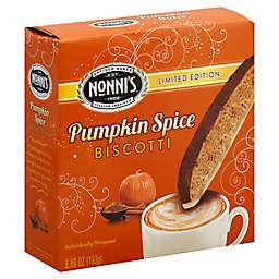 Nonni's® Limited Edition 6.88 oz. Individually Wrapped Pumpkin Biscotti