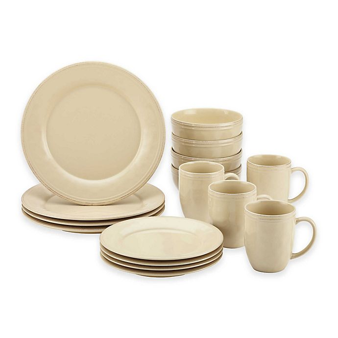 Alternate image 1 for Rachael Ray™ Cucina Dinnerware Collection in Cream