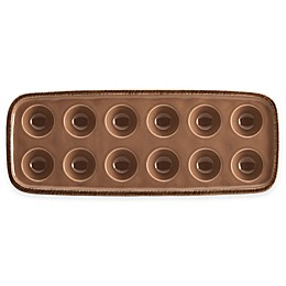 Rachael Ray™  Cucina 12-Inch  Rectangular Platter in Brown
