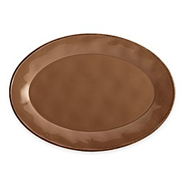 Rachael Ray™ Cucina 14-Inch Oval Platter in Brown