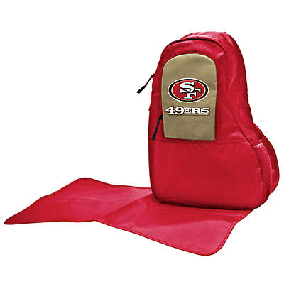 Lil Fan San Francisco 49ers Sling Diaper Bag