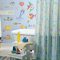 York Wallcoverings Sea Creatures Peel and Stick Wall Decals