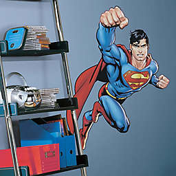 DC Comics Superman Day of Doom Peel and Stick Giant Wall Decal