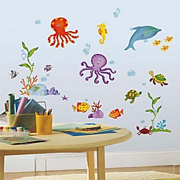 RoomMates® Adventures Under the Sea Peel and Stick Wall Decals (Set of 60)
