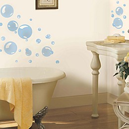 York Wallcoverings Bubbles Peel and Stick Wall Decals (Set of 31)