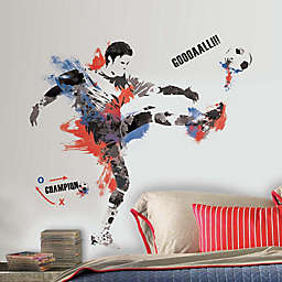 RoomMates® Men's Soccer Champion Peel and Stick Giant Wall Decals (Set of 22)