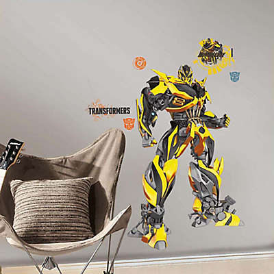 "RoomMates Hasbro® ""Transformers: Age of Extinction"" Bumblebee Peel and Stick Giant Wall Decals"