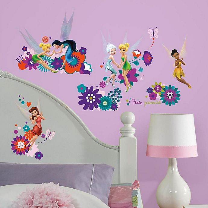 Alternate image 1 for York Wallcoverings Best Fairy Friends Peel and Stick Wall Decals (Set of 18)
