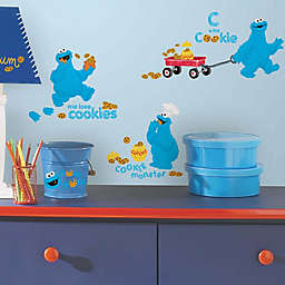 RoomMates Sesame Street® Me Love Cookie Monster Peel and Stick Wall Decals (Set of 28)