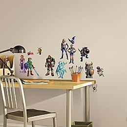 York Wallcoverings Zelda®: Ocarina of Time 23-Piece 3D Peel & Stick Wall Decals