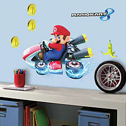 York Wallcoverings Mario Kart 8 Peel-and-Stick Giant Wall Decals (Set of 7)