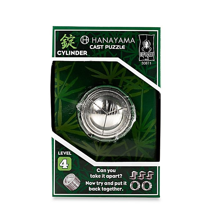Alternate image 1 for Hanayama Level 4 Cylinder Cast Puzzle