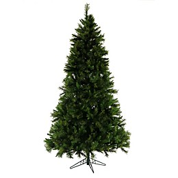 Fraser Hill Farm 7.5-Foot Canyon Pine Artificial Christmas Tree