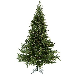 Fraser Hill Farm 7.5-Foot Pre-Lit Smart Lighting Foxtail Pine Artificial Christmas Tree