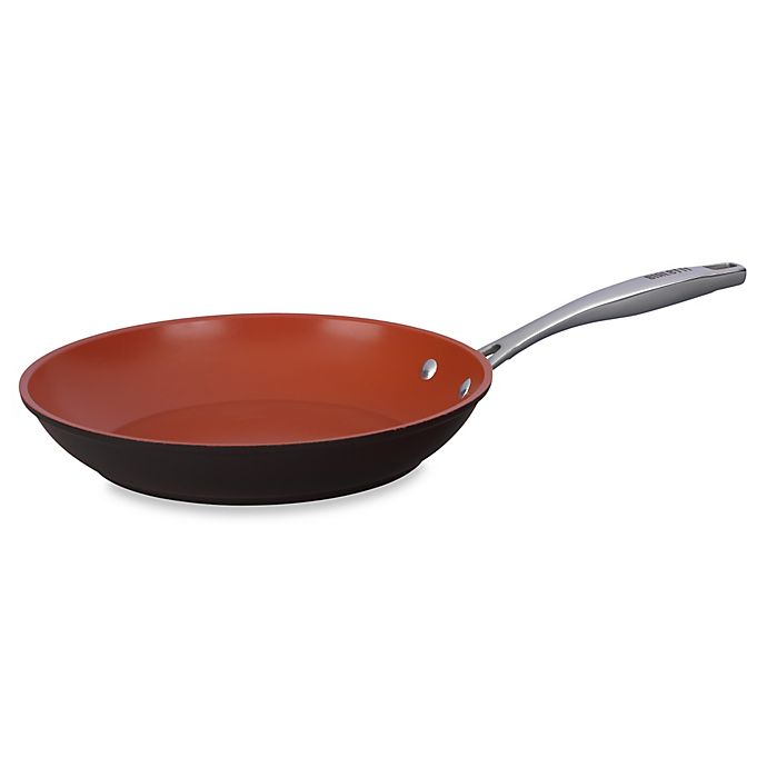 Alternate image 1 for Bialetti® Terracotta Xtra 11-Inch Open Fry Pan in Brown