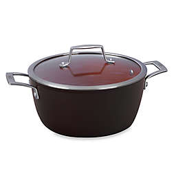 Bialetti® Terracotta Xtra 5 qt. Covered Dutch Oven in Brown