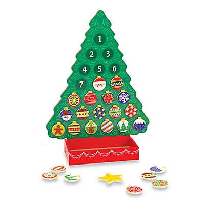 Melissa and Doug® Christmas Wooden Advent Calendar