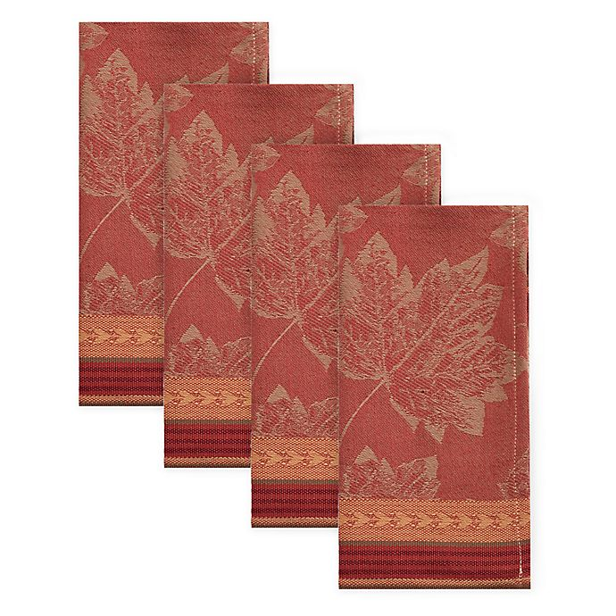 Alternate image 1 for Emerson Jacquard Napkins (Set of 4)