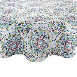 Phoenix 70-Inch Round Indoor/Outdoor Tablecloth