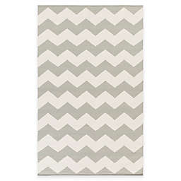 Artist Weavers Vogue Collins 3' x 5' Area Rug in Grey