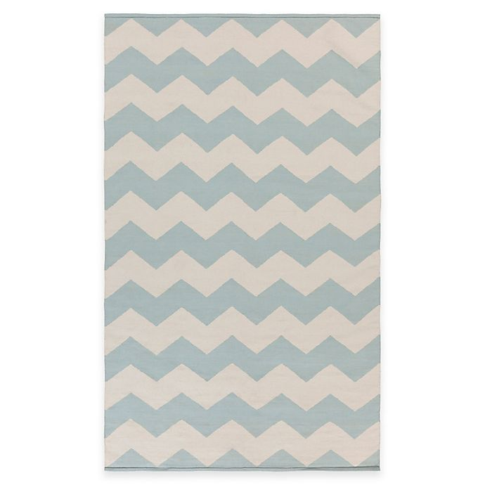 Alternate image 1 for Artist Weavers Vogue Collins 3-Foot x 5-Foot Area Rug in Light Blue